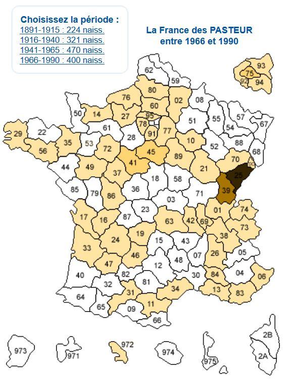 carte-de-france-des-pasteurs-1966-1990